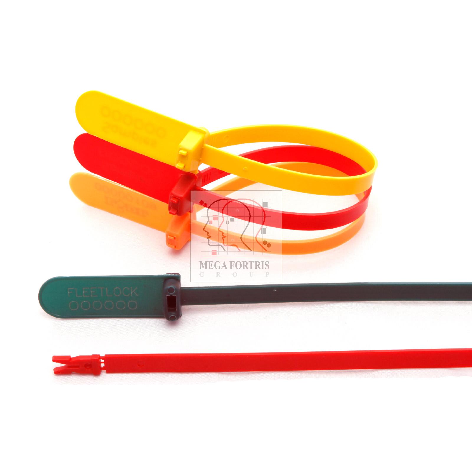 Scellé de sécurité plastique à longueur fixe