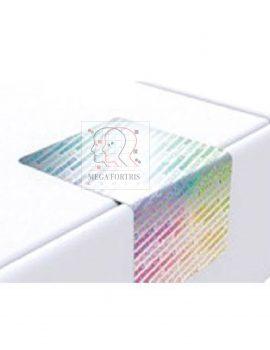 Etiquettes holographiques avec système anti violation