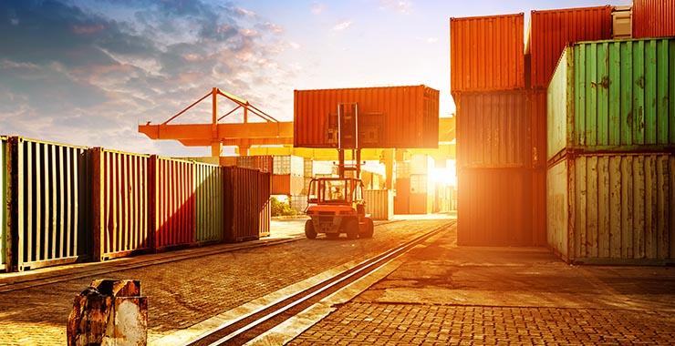 Scellés de sécurité pour transport maritime